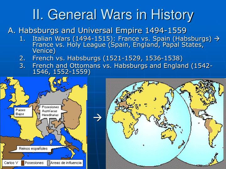 II. General Wars in History
