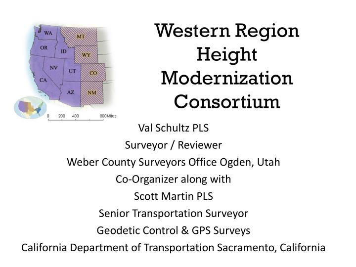 western region height modernization consortium n.