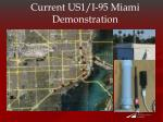 current us1 i 95 miami demonstration