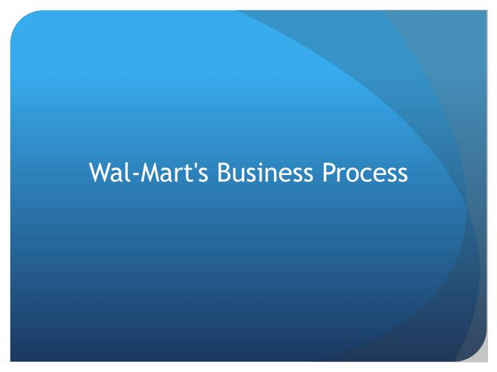 Wal-Mart's Business