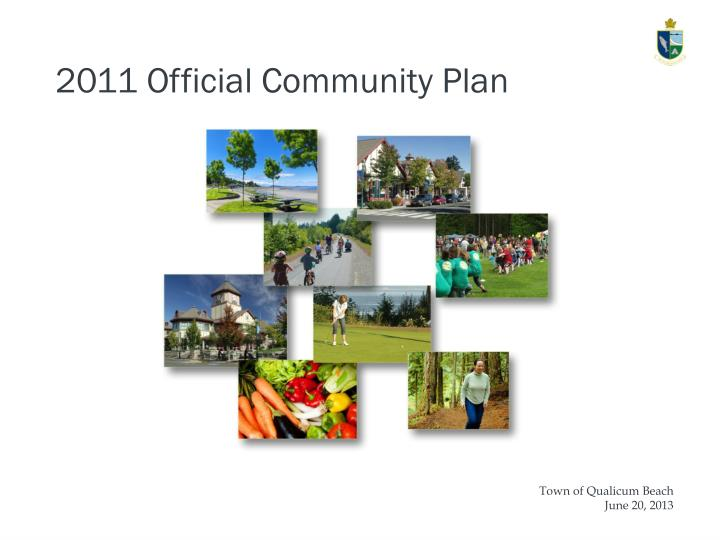 2011 Official Community Plan