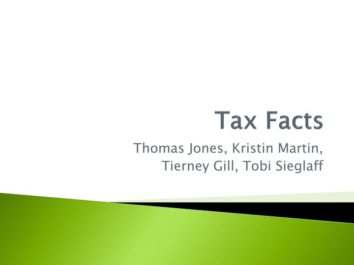 tax facts n.