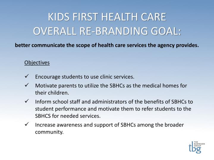 KIDS FIRST HEALTH CARE