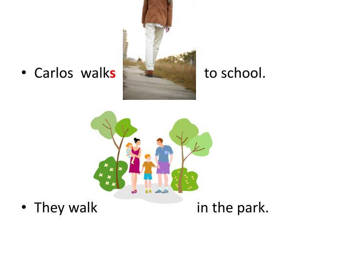 Carlos  walk