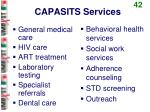 capasits services