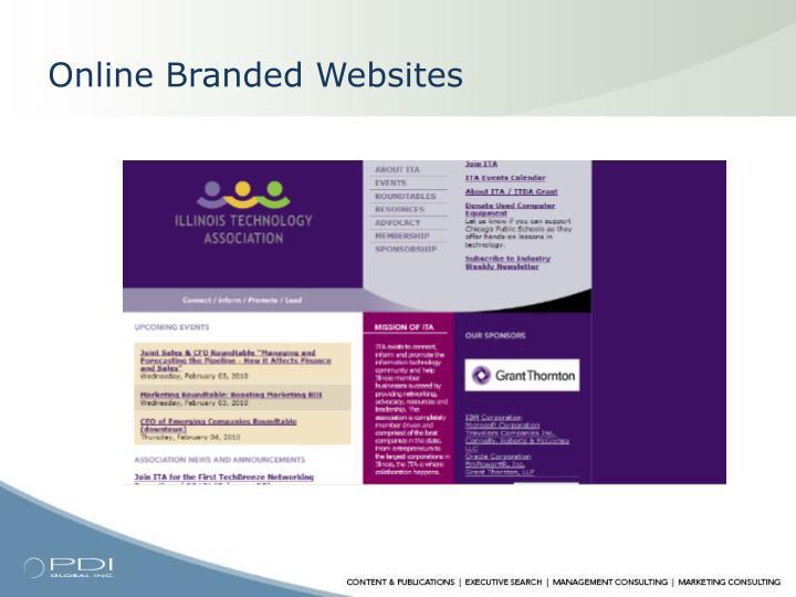 Online Branded Websites