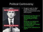 political controversy