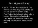 post modern frame1