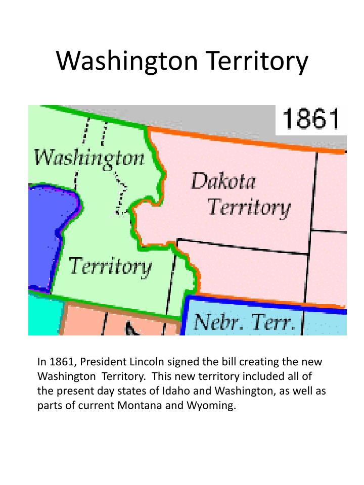 Washington territory
