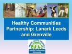 healthy communities partnership lanark leeds and grenville
