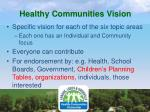 healthy communities vision1