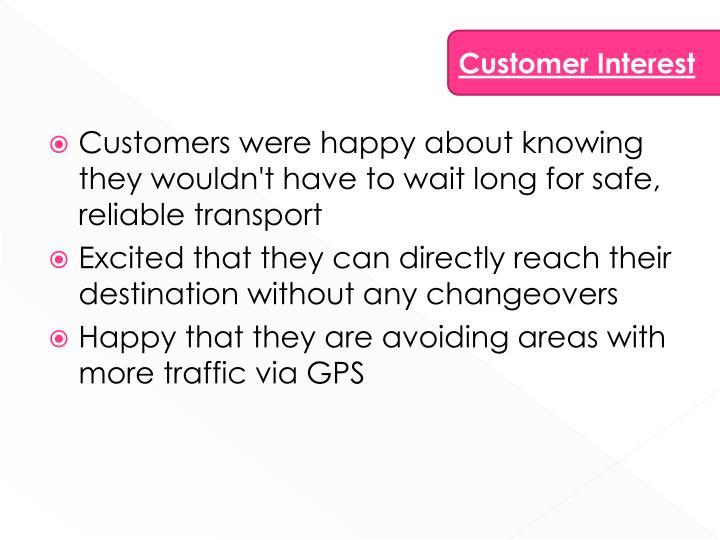 Customer Interest