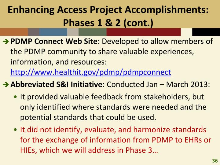 Enhancing Access Project