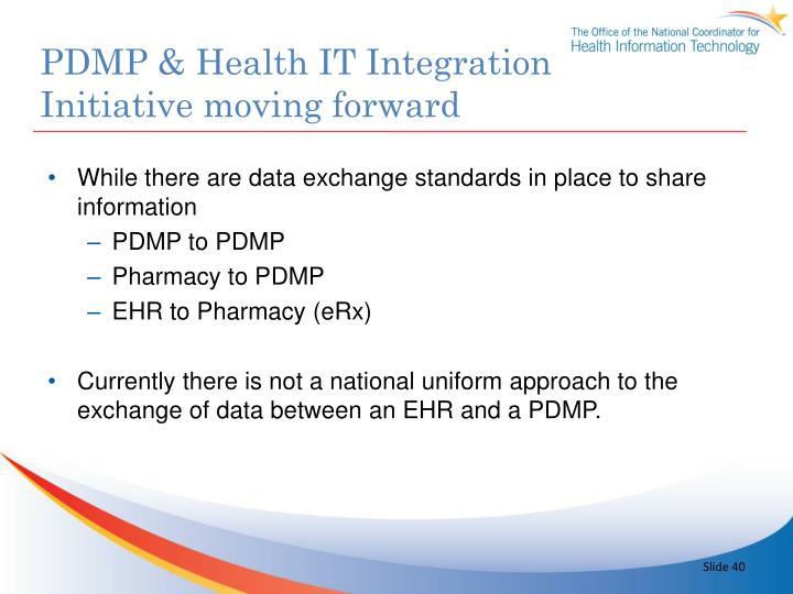 PDMP & Health IT Integration
