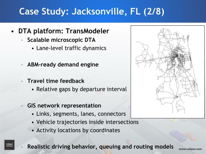 Case Study: Jacksonville, FL (2/8)