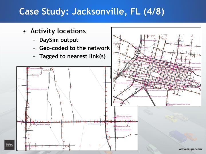 Case Study: Jacksonville, FL (4/8)