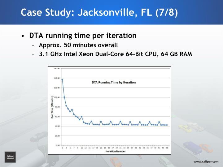 Case Study: Jacksonville, FL (7/8)