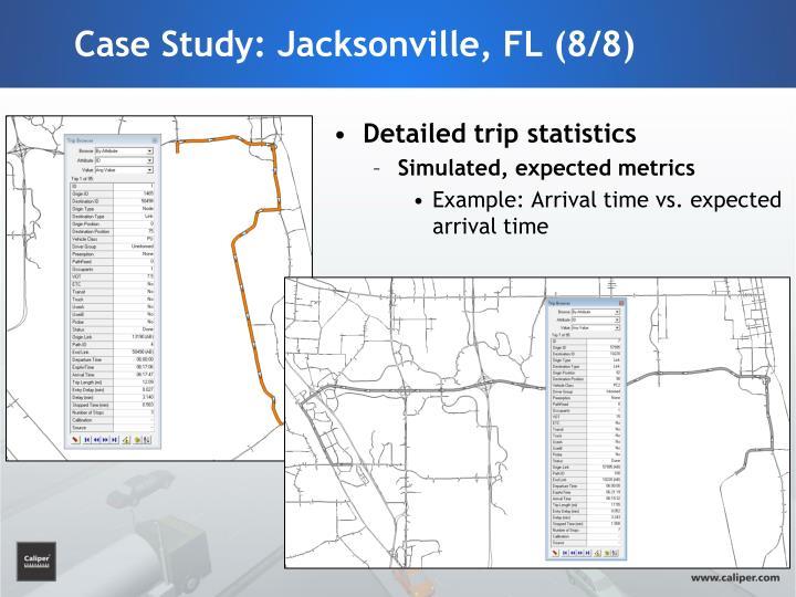 Case Study: Jacksonville, FL (8/8)