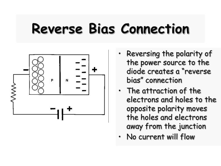 Reverse Bias Connection