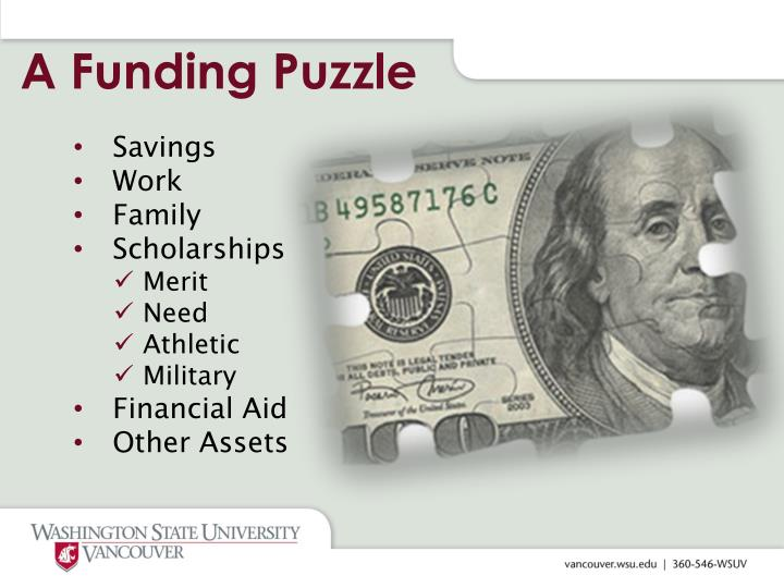 A funding puzzle
