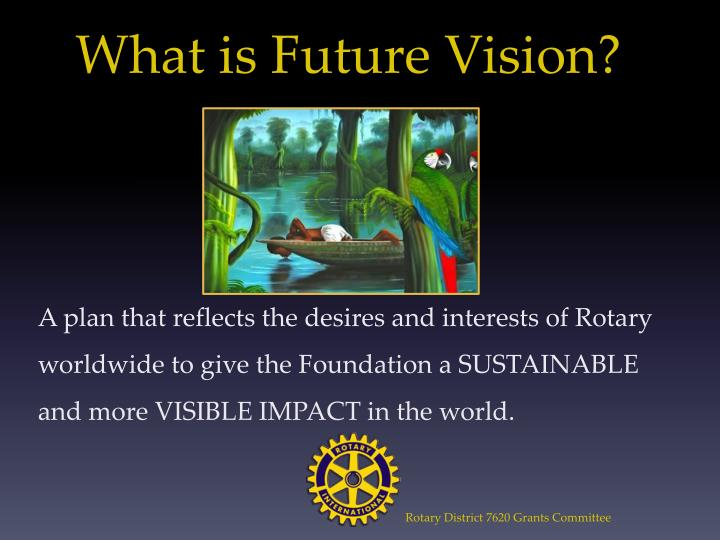 What is future vision