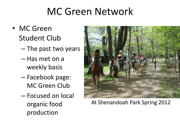 MC Green Network