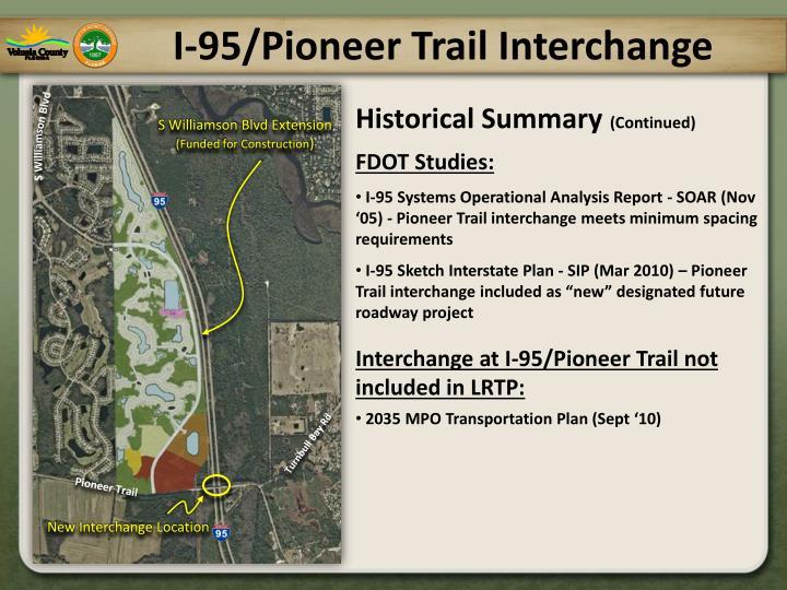 I 95 pioneer trail interchange2