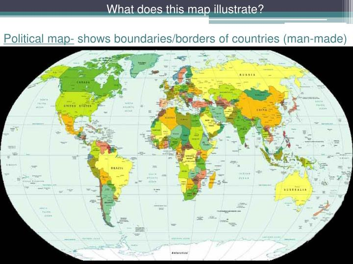 What does this map illustrate?
