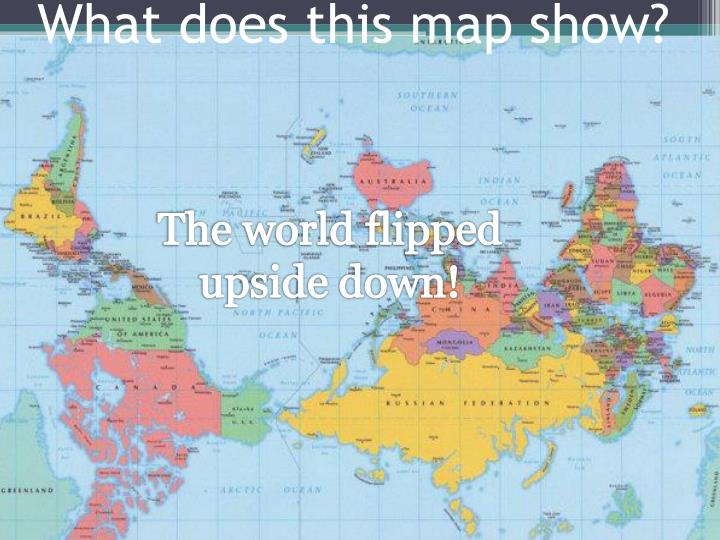 What does this map show