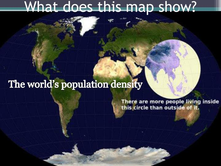 What does this map show1