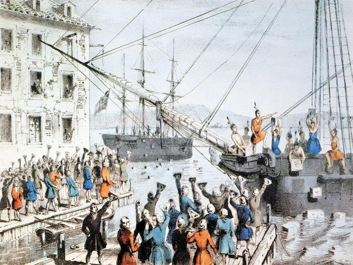 13 colonies and the reaction to the quebec act