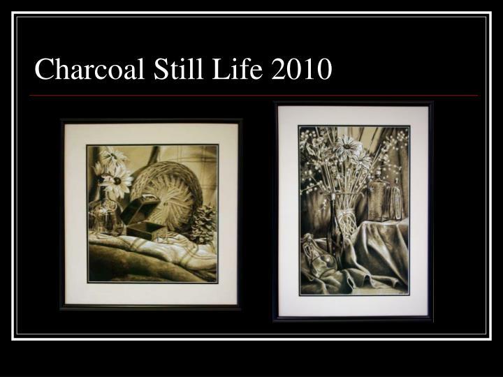 Charcoal Still Life 2010