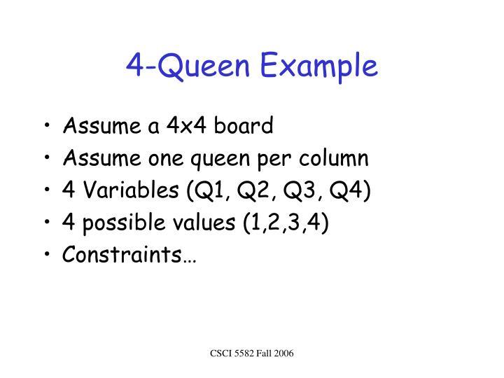 4-Queen Example