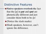 distinctive features2