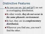 distinctive features28