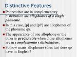 distinctive features30