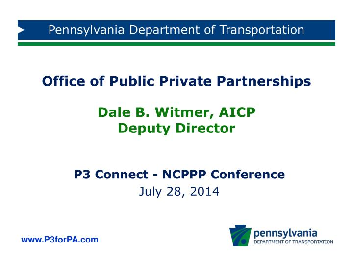 p3 connect ncppp conference july 28 2014 n.