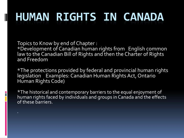 human rights in canada n.