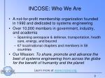 incose who we are