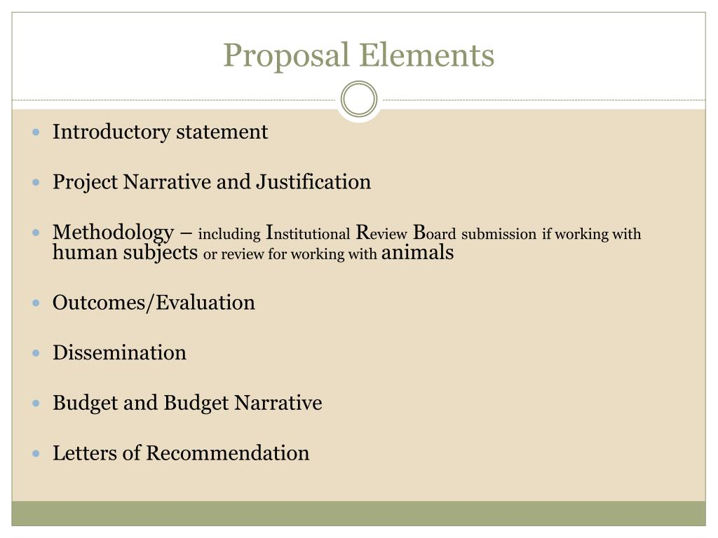 PPT - Proposal Writing PowerPoint Presentation - ID:2910896