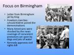 focus on birmingham