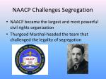 naacp challenges segregation