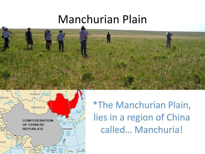Manchurian Plain