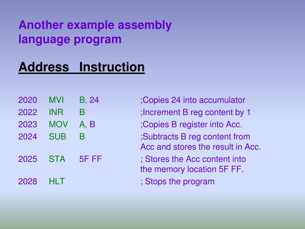 PPT - Microprocessor and Assembly Language PowerPoint