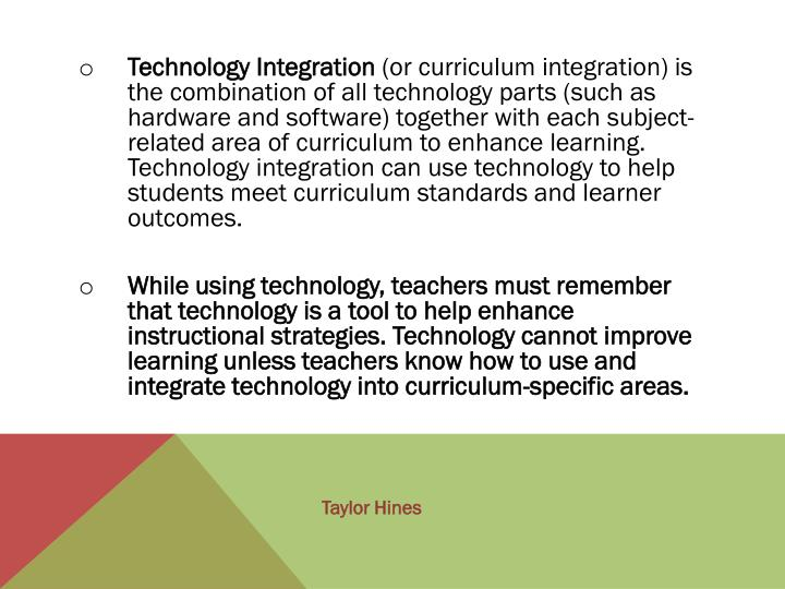 Ppt Chapter 6 Technology Digital Media And Curriculum