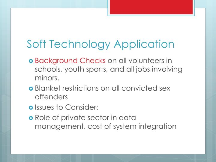 Soft Technology Application