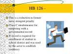 hb 126