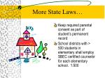 more state laws