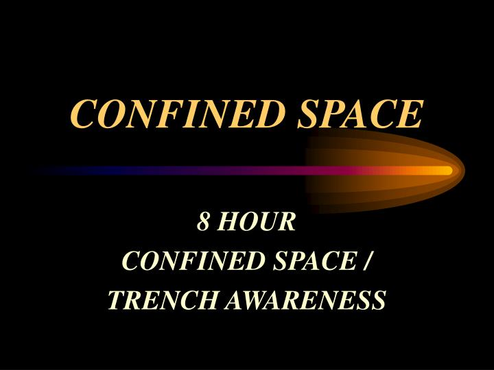 confined space n.