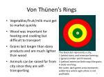 von th nen s rings